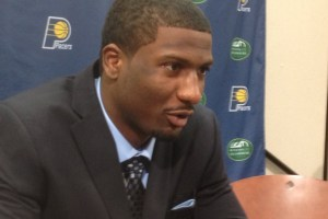 First round draft pick Solomon Jones talks about coming to the Pacers.