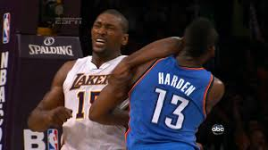 His name might be World Peace, but that doesn't mean there isn't rage buried in the noodle owned by the former Ron Artest.