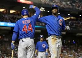Whether Junior Lake (R) is a flash in the pan, or another building block joining Anthony Rizzo remains to be seen - but not by many.