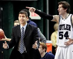 The right fit is what all recruits and coaches should seek in one another.  Brad Stevens (left) and Matt Howard (right) might be the best fit in Indiana since Quinn Buckner and Bob Knight.