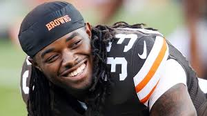 Cleveland Browns fans are not smiling after the trade that sent Trent Richardson to the Indianapolis Colts.  Cubs fans smile no matter what.