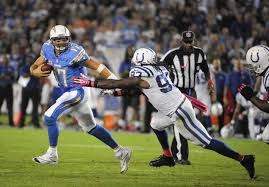 Colts linebacker was just a little too slow to catch Phillip Rivers last night, just as the Colts were not good enough to beat a mediocre team on the road.