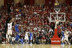 Indiana's Christian Watford hits the shot that ended the Kentucky vs. Indiana basketball series that stretched back to 1969.