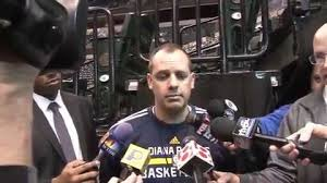 Frank Vogel isn'tenjoying interactions with media as much as he used to.