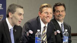Rams COO Kevin Demoff, GM Les Snead, and coach Jeff Fisher are going to make tonight memorable for Rams fans.
