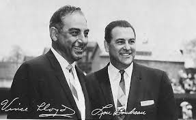 I can still hear Vince Lloyd (left) and Lou Boudreau's (right) voices calling Cubs games.