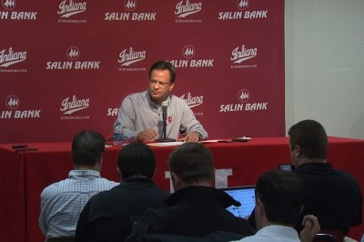 Tom Crean answered questions about team issues for longer that the 40 minutes of a college basketball game.