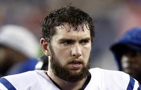 Andrew Luck was under siege yesterday as he failed to enjoy the worst statistical game of his career.