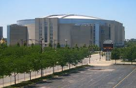 This is the building where Tom Crean will take an important final exam tonight.