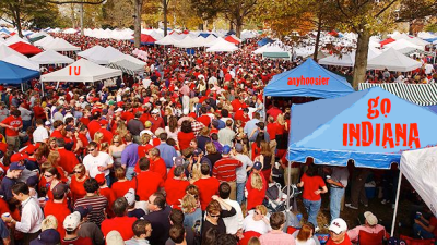 Indiana might not win the game during football season, but Hoosiers always win the tailgate.