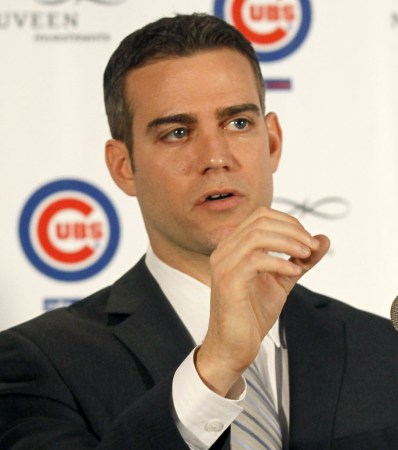 Cubs president Theo Epstein likely can't wait for 2016, so he shouldn't. He should make 2016.