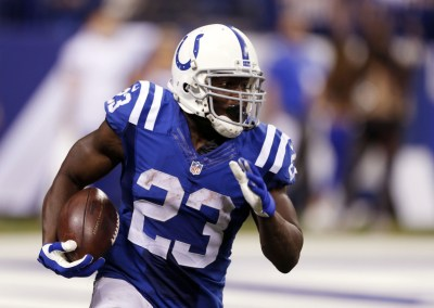 Frank Gore is on pace to be the first Colts in almost a decade to rush for 1,000 yards in a season.