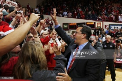 Seems like a long time since Tom Crean and IU fans celebrated together.  Maybe there are a few reasons for optimism.