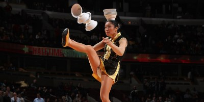 It appeared Red Panda - the unicycle riding bowl-balancing halftime act might be the highlight of the night for Pacers fans. Not so fast.