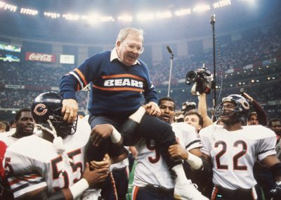 Buddy Ryan carried off the field after Super Bowl XX by members of the best defense ever assembled.