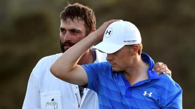 Golf helped edge Jordan Spieth toward humility yesterday.