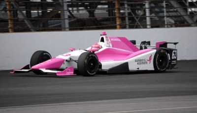 I will never drive Pippa Mann's Susan G. Komen Honda car around the Indianapolis Motor Speedway for 11 very good reasons.