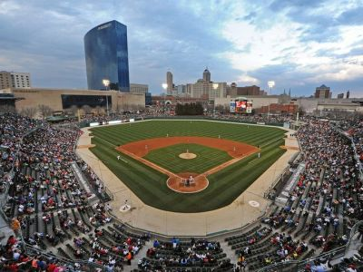 No better place in Indy on a June night than Victory Field.