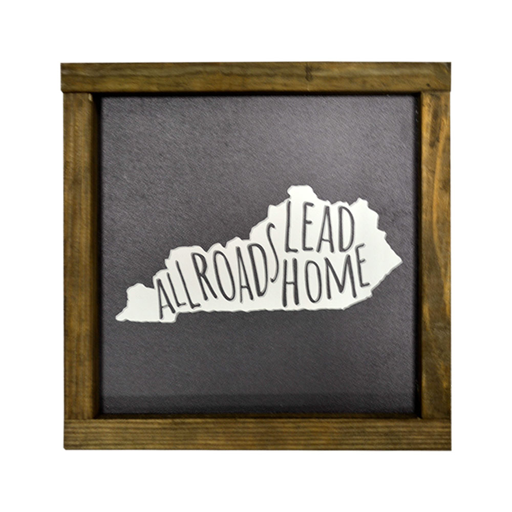 Frame Picture Ky All Roads Lead Home Frame