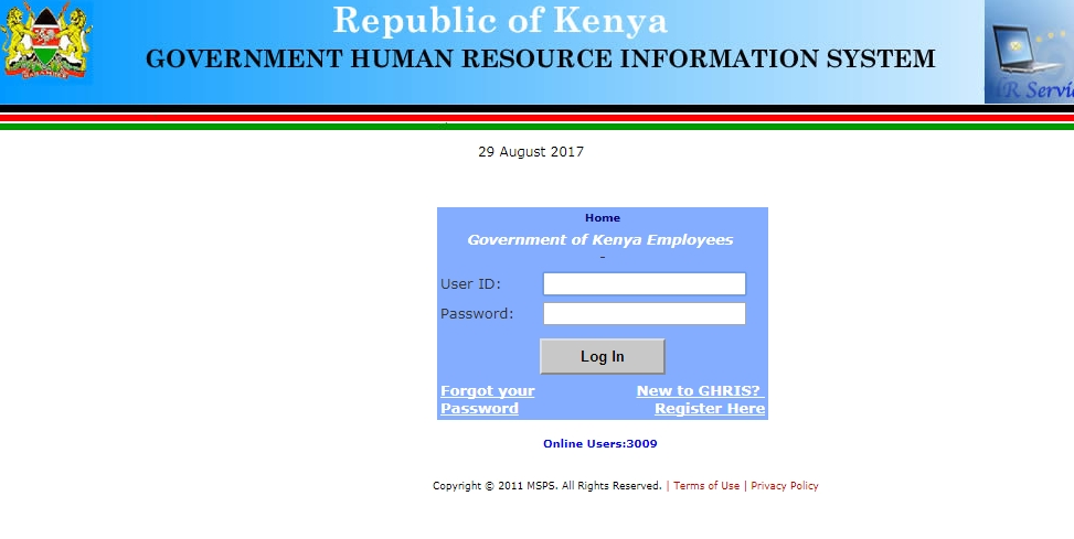 How to Check and Print Online Payslip for Government of Kenya - download payslips