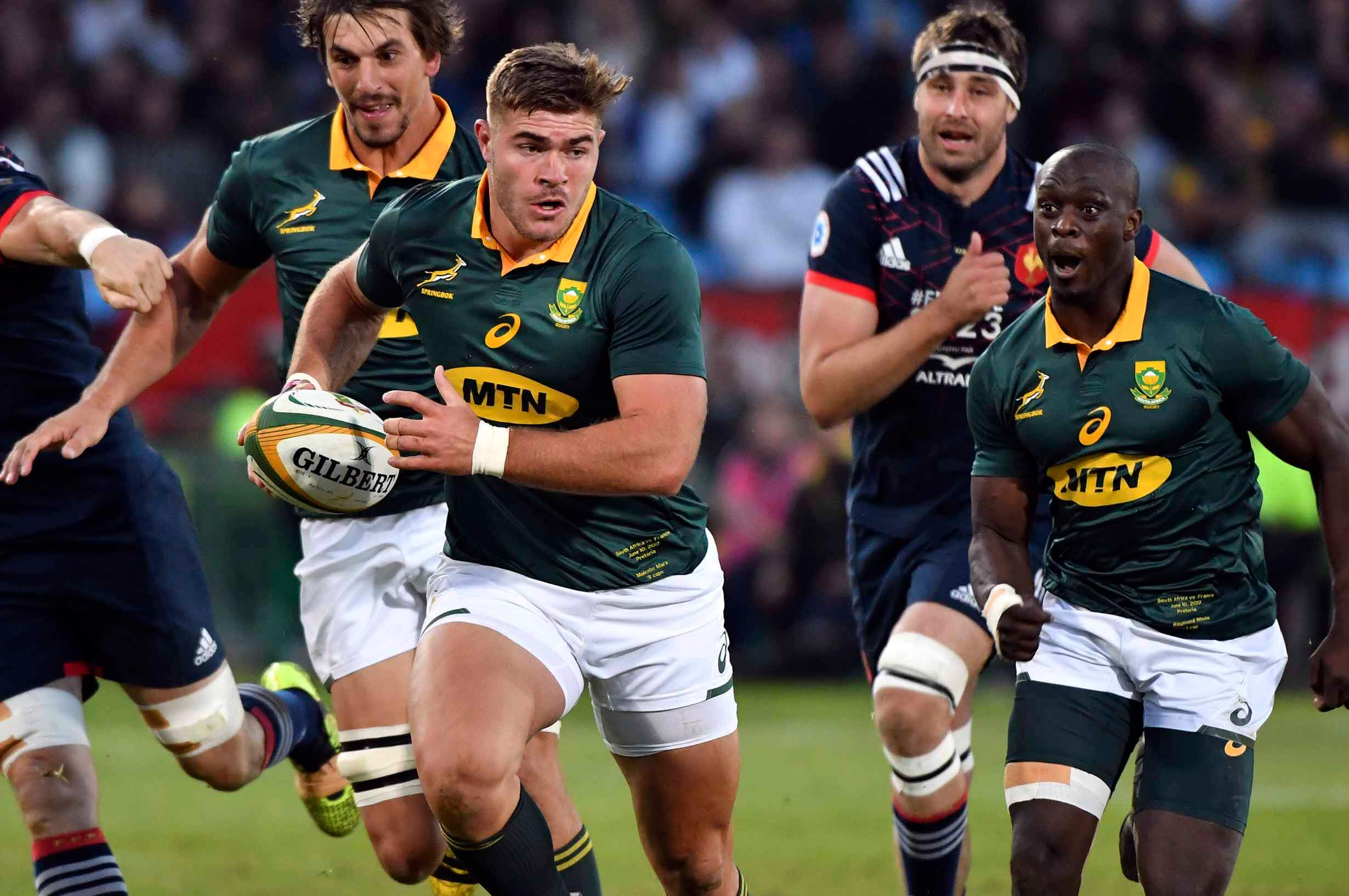 Springbock Hocker Malcolm Marx How Good Is The Bok Hooker Rugby Championship
