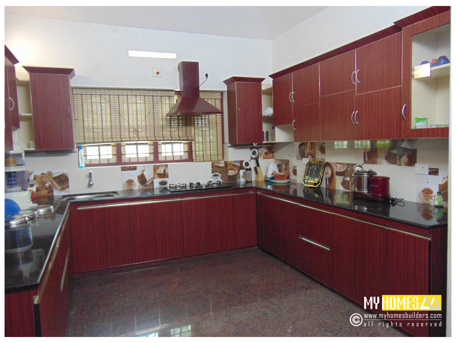 Latest Kitchen Designs Photos Budget House Kerala Home Designers And Builder In Thrissur India