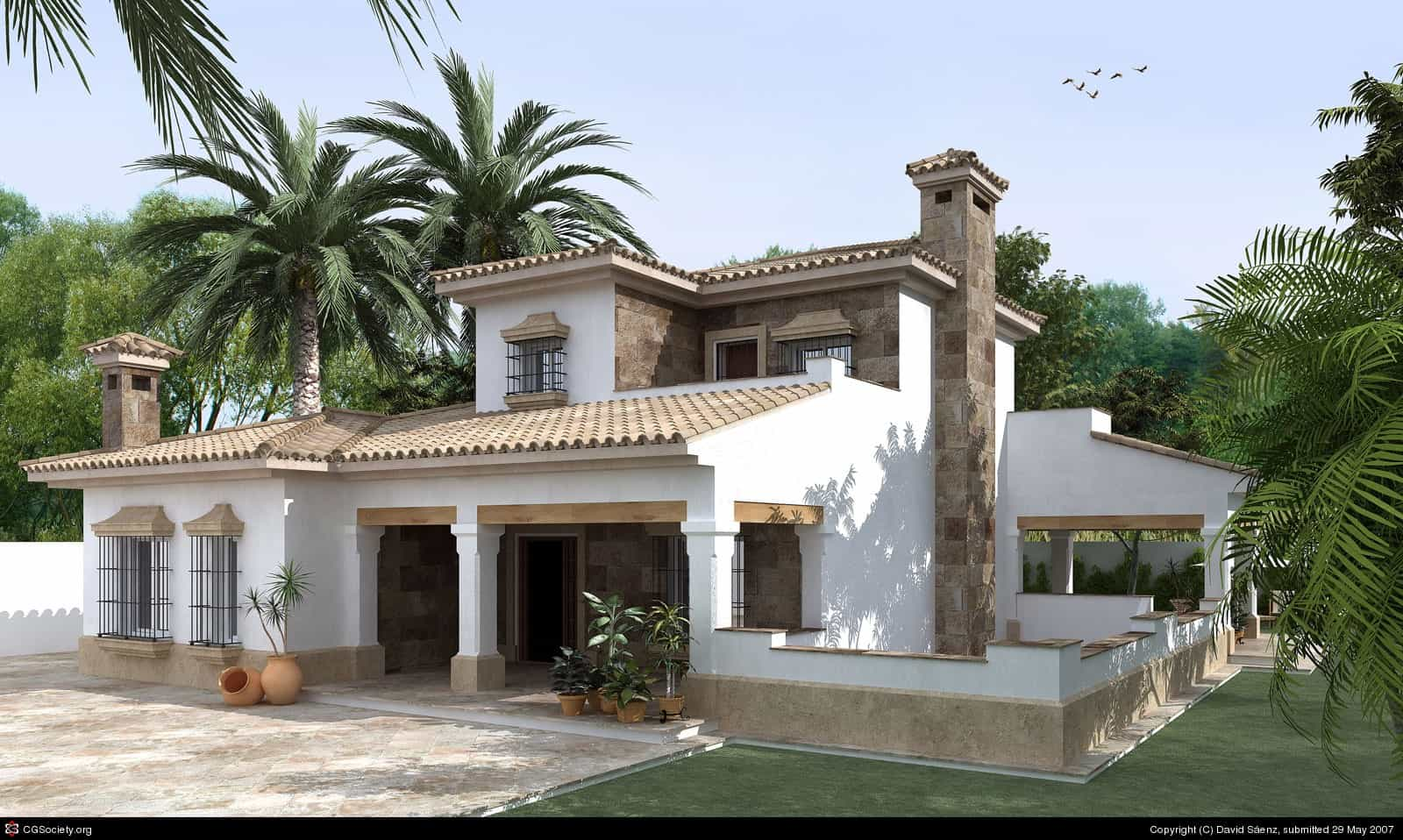 western style house exterior designs small house design kerala style