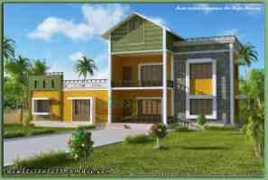 Story House Model Design