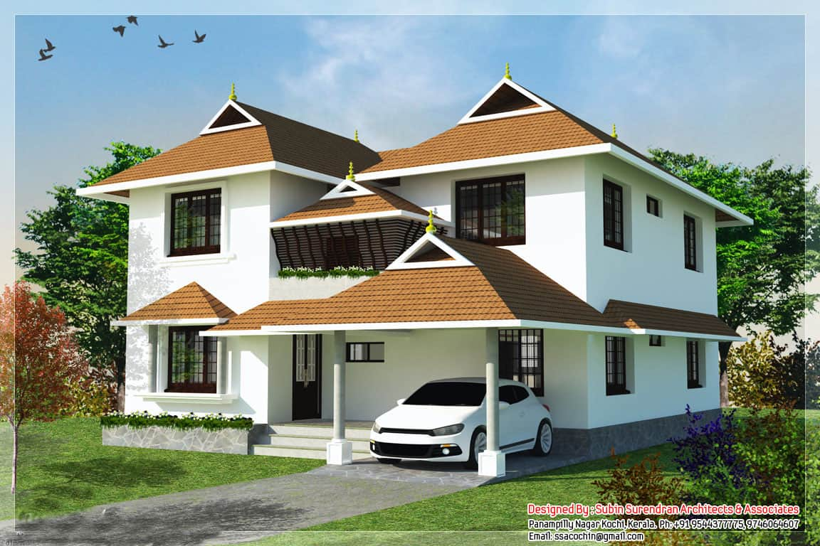 Traditional Home Designs Low Cost House In Kerala With Plan And Photos 991 Sq Ft Khp