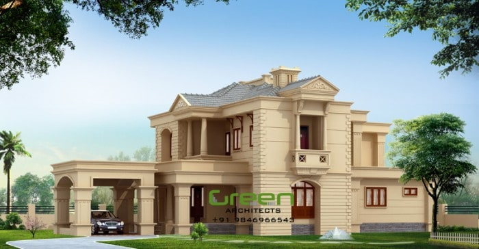 colonial style modern house elevation sq ft house plans house plans colonial style homes modern colonial house