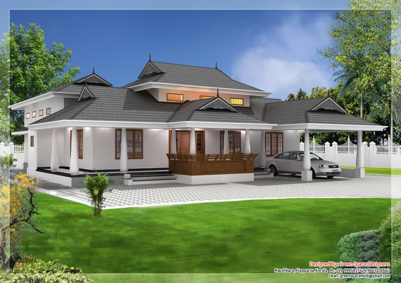 Traditional Home Designs Small House Plans In Kerala 3 Bedroom Keralahouseplanner