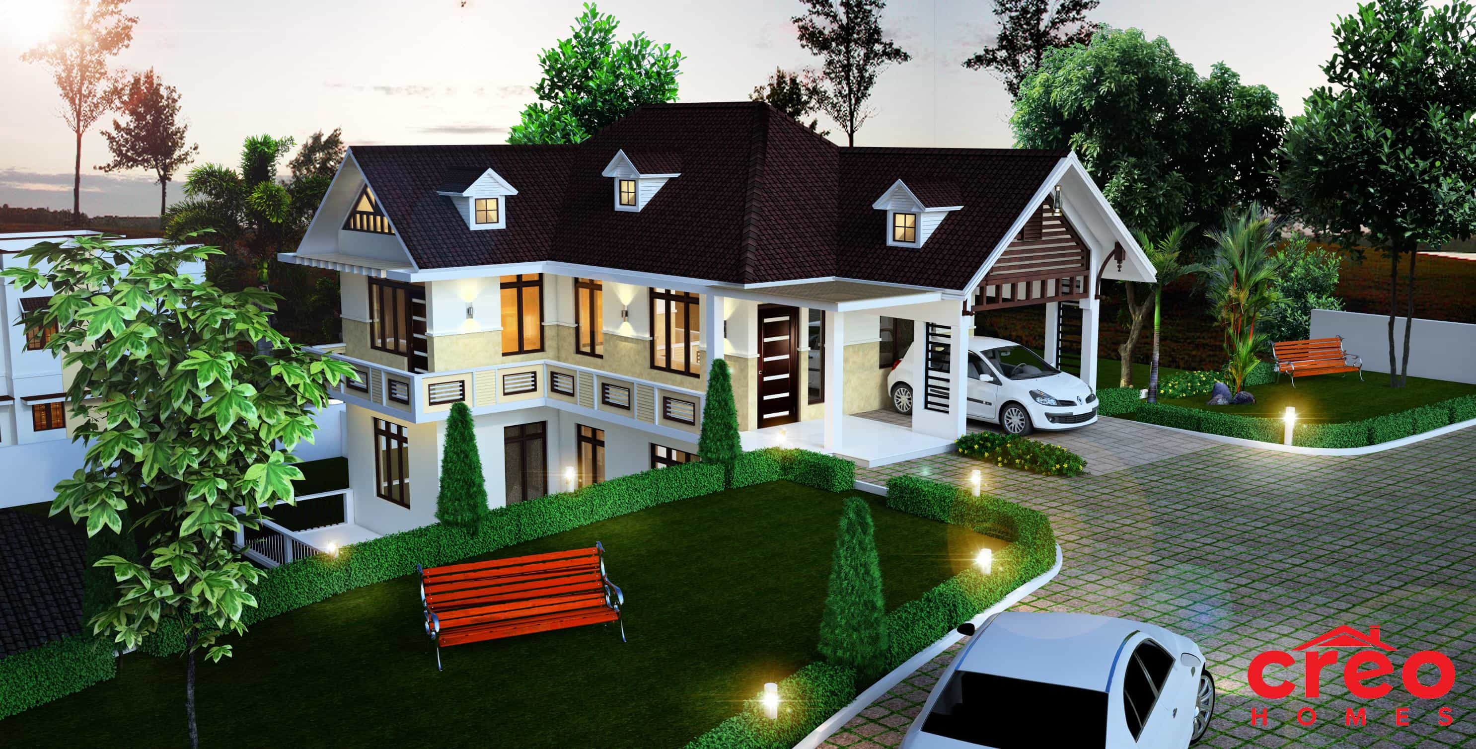 Beautiful Farmhouse In Kerala Kerala Home Design And House Plans Indian And Budget Models