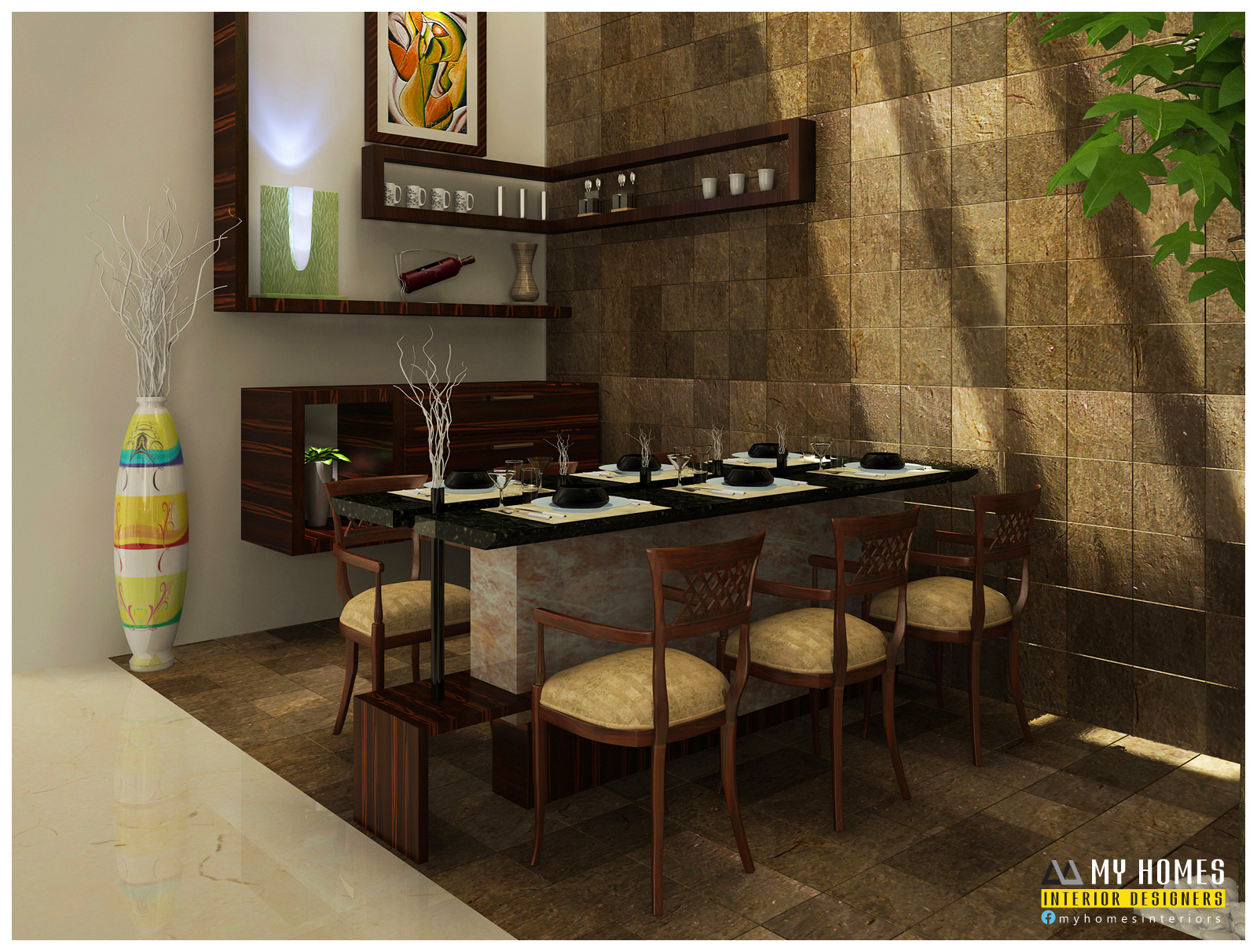 Home Interior Design Dining Room Interior Design Archives Page 2 Of 4 Kerala Interior
