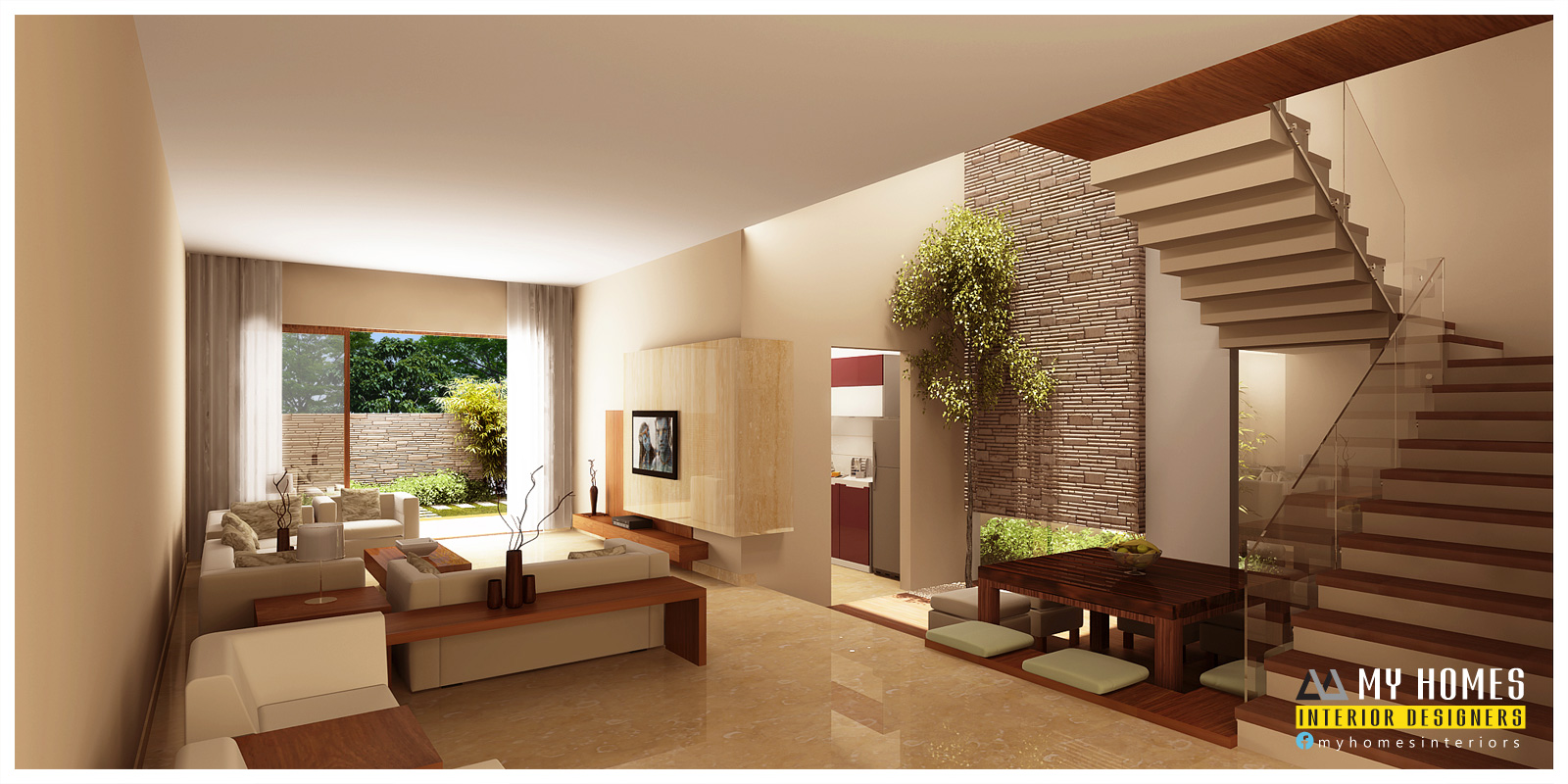 Modern Interior Home Design Kerala Interior Design Ideas From Designing Company Thrissur