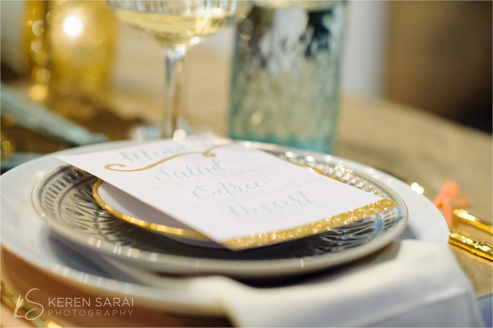 Champagne Salon Chicago Engagement And Wedding Photography Keren Sarairm