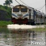 Pasuruan Banjir, KA Mutiara Timur & Probowangi Alami Keterlambatan