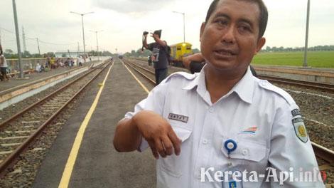 Gatut Sutiatmoko, Manager Humas PT KAI Daop 8 - jateng.tribunnews.com