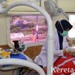 KAI Daop 7 Beri Layanan Kesehatan Gratis untuk Warga di Stasiun Talun Blitar