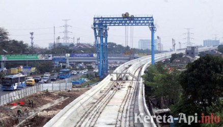 Jalur LRT Dukuh Atas-Kuningan Bakal Dibangun Lebih Dari Satu?