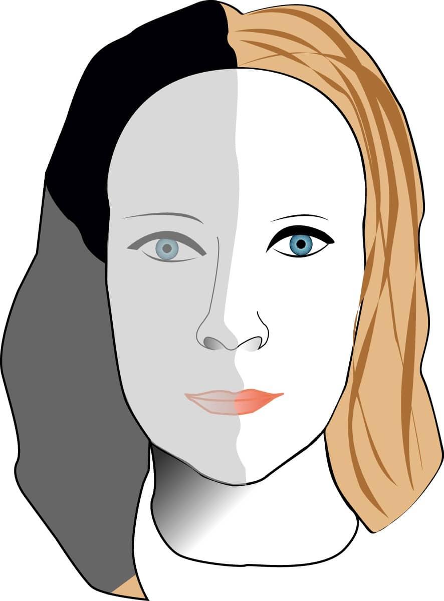 Grafisk design 1: självporträtt