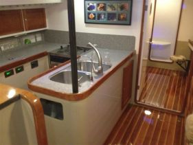 55' Cruising sled galley