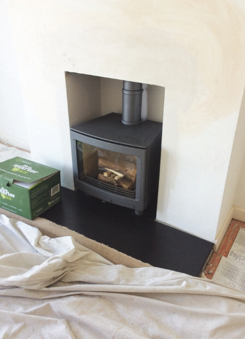 Contura I51 Contura I5 Freestanding Wood Burning Stove Installation From