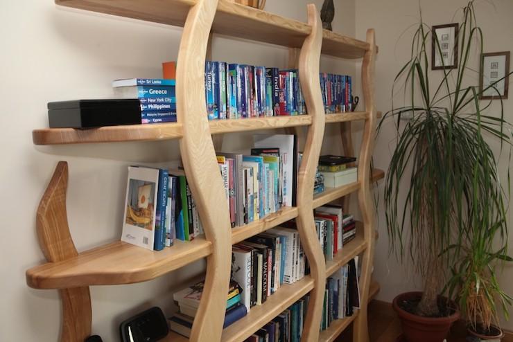 Ash Bookcases Kerr Carpentry