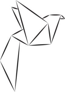 חיות אוריגמי