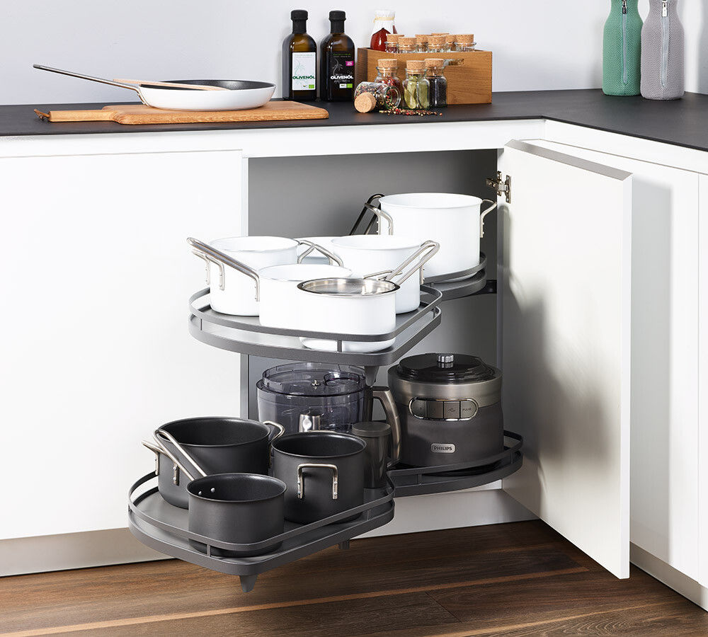 Le Mans Schrank Lemans Kitchen Unit Pull Out For Pots And Pans Kesseböhmer