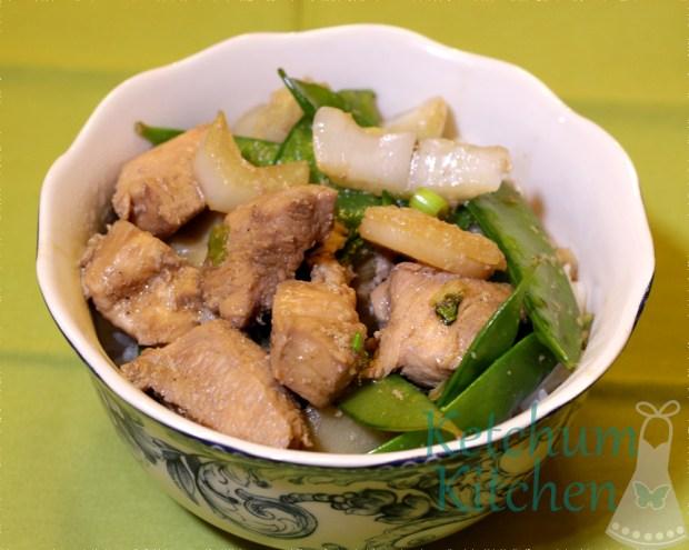 Asian Chicken Stir Fry w/ Jasmine Rice
