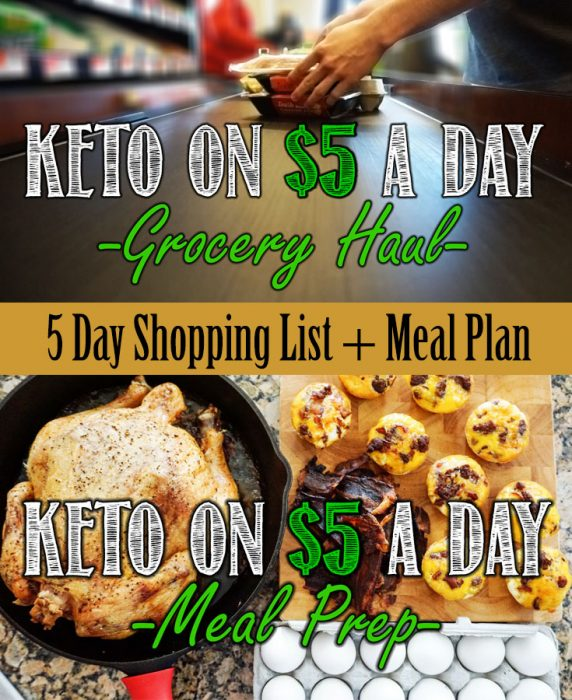 Keto on a Budget Shopping List and Meal Plan for Keto on $5 a Day