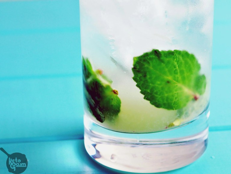 Vodka mojito low carb sugar free recipe ketogasm for 7 and 7 drink recipe