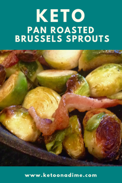 Idyllic Keto Pan Roasted Brussels Sprouts Keto Pan Roasted Brussels Sprouts Keto On A Dime Brussel Sprouts Keto Breakfast Keto Brussel Sprouts