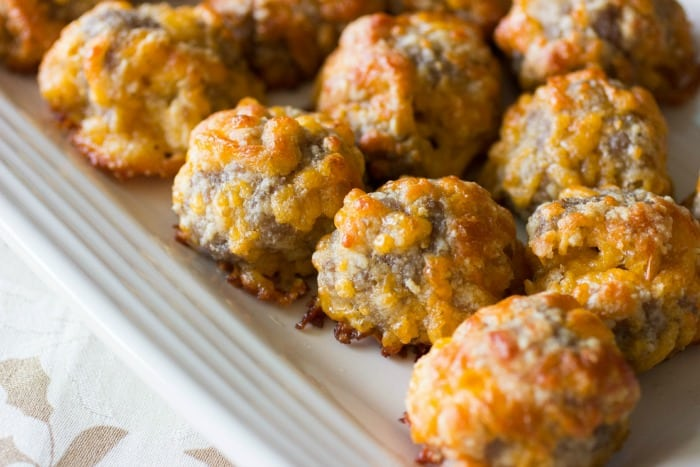 Keto Sausage Balls Holiday Recipe O Keto Size Me